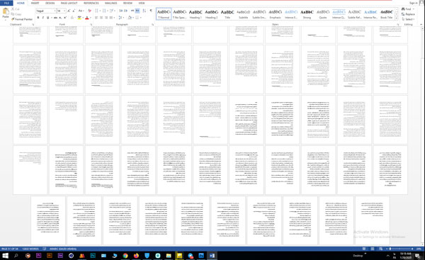 تحقیق شیوه بازیگری با توجه به سیستم استانیسلاوسکی 54 صفحه